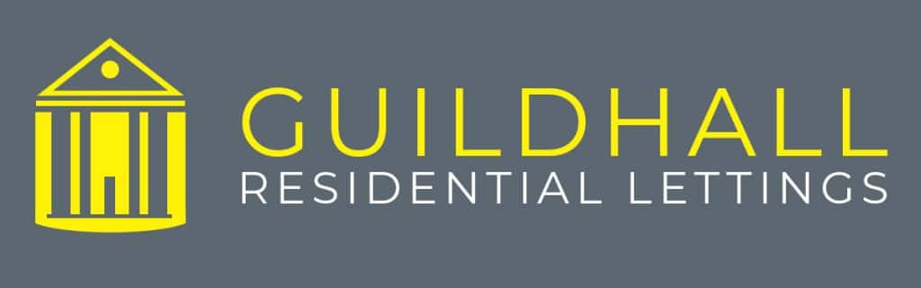 Guildhall Residential Lettings Logo - Yellow